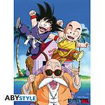 Dragon Ball -  Poster Kame Team (52 X 38 Cm)