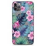 1001 Coques Coque silicone gel Apple iPhone 11 Pro Max motif Tropical Aquarelle