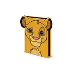 Le Roi Lion - Carnet de notes Premium A5 Simba Furry