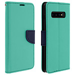 Avizar Etui folio Vert pour Samsung Galaxy S10 Plus
