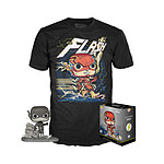 DC Comics - Set figurine et T-Shirt POP! & Tee Flash heo Exclusive - Taille XL
