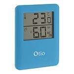 Thermomètre / Hygromètre intérieur magnétique - Bleu - Otio