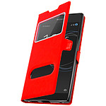 Avizar Etui folio Rouge pour Sony Xperia L1