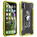 Avizar Coque Jaune Hybride pour Apple iPhone XS Max