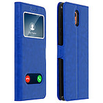 Avizar Etui folio Bleu pour Nokia 3.1