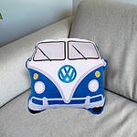 Coussin combi VW Bleu