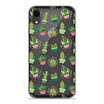 1001 Coques Coque silicone gel Apple iPhone XR motif Cactus