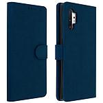 Avizar Etui folio Bleu Nuit pour Samsung Galaxy Note 10 Plus