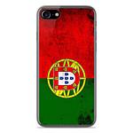 1001 Coques Coque silicone gel Apple IPhone 8 motif Drapeau Portugal