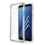EVETANE Coque Samsung Galaxy A8 2018 ANTI CHOCS silicone transparente bords renforcés