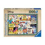 Disney - Puzzle Affiches de films vintage (1000 pièces)