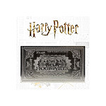 Harry Potter - Réplique Hogwarts Train Ticket Limited Edition (plaqué argent)
