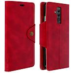 Avizar Etui folio Rouge Sixties pour Huawei Mate 20 Lite