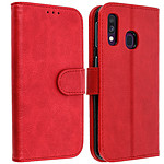Avizar Etui folio Rouge pour Samsung Galaxy A40