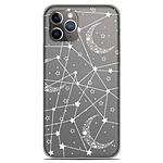 1001 Coques Coque silicone gel Apple iPhone 11 Pro motif Lignes étoilées