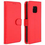 Avizar Etui folio Rouge Portefeuille pour Huawei Mate 20 Pro