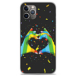 1001 Coques Coque silicone gel Apple iPhone 11 Pro motif LGBT