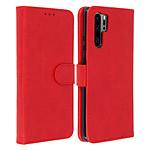 Avizar Etui folio Rouge pour Huawei P30 Pro