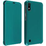 Avizar Etui folio Vert pour Samsung Galaxy A10