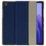 Avizar Etui folio Bleu Nuit pour Samsung Galaxy Tab A7 10.4 2020