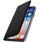 Avizar Etui folio Noir pour Apple iPhone X , Apple iPhone XS