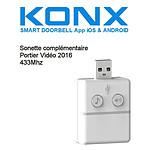 Konx Sonnette 433mhz Pour Portier Vidéo Konx (version 2016) KON_BELL433MHZ