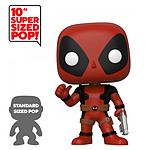 Marvel - Figurine Super Sized POP! Deadpool Thumb Up Red Deadpool 25 cm