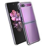 Avizar Coque Transparent pour Samsung Galaxy Z Flip