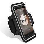 Avizar Brassard sport Noir pour Tous les Smartphones