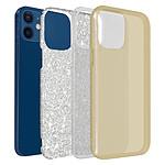 Avizar Coque Dorée pour Apple iPhone 12 Mini
