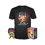 Marvel 80th - Set Figurine POP! & T-Shirt First Appearance Cyclops - Taille S