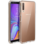Avizar Coque Transparent Intégrale pour Samsung Galaxy A7 2018