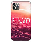 1001 Coques Coque silicone gel Apple iPhone 11 Pro Max motif Be Happy nuage