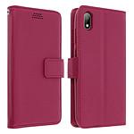 Avizar Etui folio Rose Éco-cuir pour Huawei Y5 2019 , Honor 8S