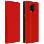 Avizar Etui folio Rouge pour Xiaomi Redmi Note 9 Pro Max , Xiaomi Redmi Note 9 Pro , Xiaomi Redmi Note 9S