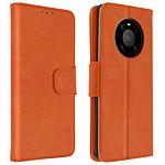 Avizar Etui folio Orange pour Huawei Mate 40 Pro , Huawei Mate 40 Pro Plus