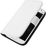Avizar Etui folio Blanc pour Samsung Galaxy Grand I9080 , Samsung Galaxy Grand Duos I9082