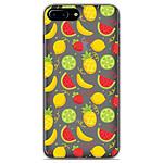 1001 Coques Coque silicone gel Apple iPhone 8 Plus motif Fruits tropicaux