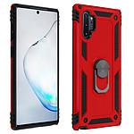 Avizar Coque Rouge Bi-matières pour Samsung Galaxy Note 10 Plus