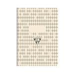 Clairefontaine carnet piqûre textile 14,8x21cm 64 pages 5x5