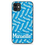 1001 Coques Coque silicone gel Apple iPhone 11 motif Fier d'être pour Marseille
