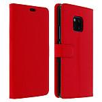 Avizar Etui folio Rouge pour Huawei Mate 20 Pro