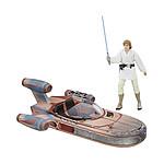 Star Wars Black Series - Véhicule 2017 Luke Skywalker's X-34 Landspeeder