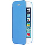 MOXIE  Coque Folio Color pour iPhone 5/5S  Bleu