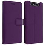 Avizar Etui folio Violet pour Samsung Galaxy A80