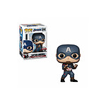 Avengers Endgame - Figurine POP! Bobble Head Captain America Special Edition 9 cm