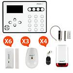 Atlantic'S ATEOS - Alarme de maison sans fil GSM Kit Max 1 (MD-329R)