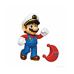 World of Nintendo - Figurine Super Mario Captain Mario avec Lune 10 cm