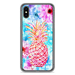1001 Coques Coque silicone gel Apple iPhone X / XS motif Ananas