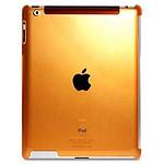 PURO  Coque CRYSTAL FLUO New iPad/iPad2  Orange